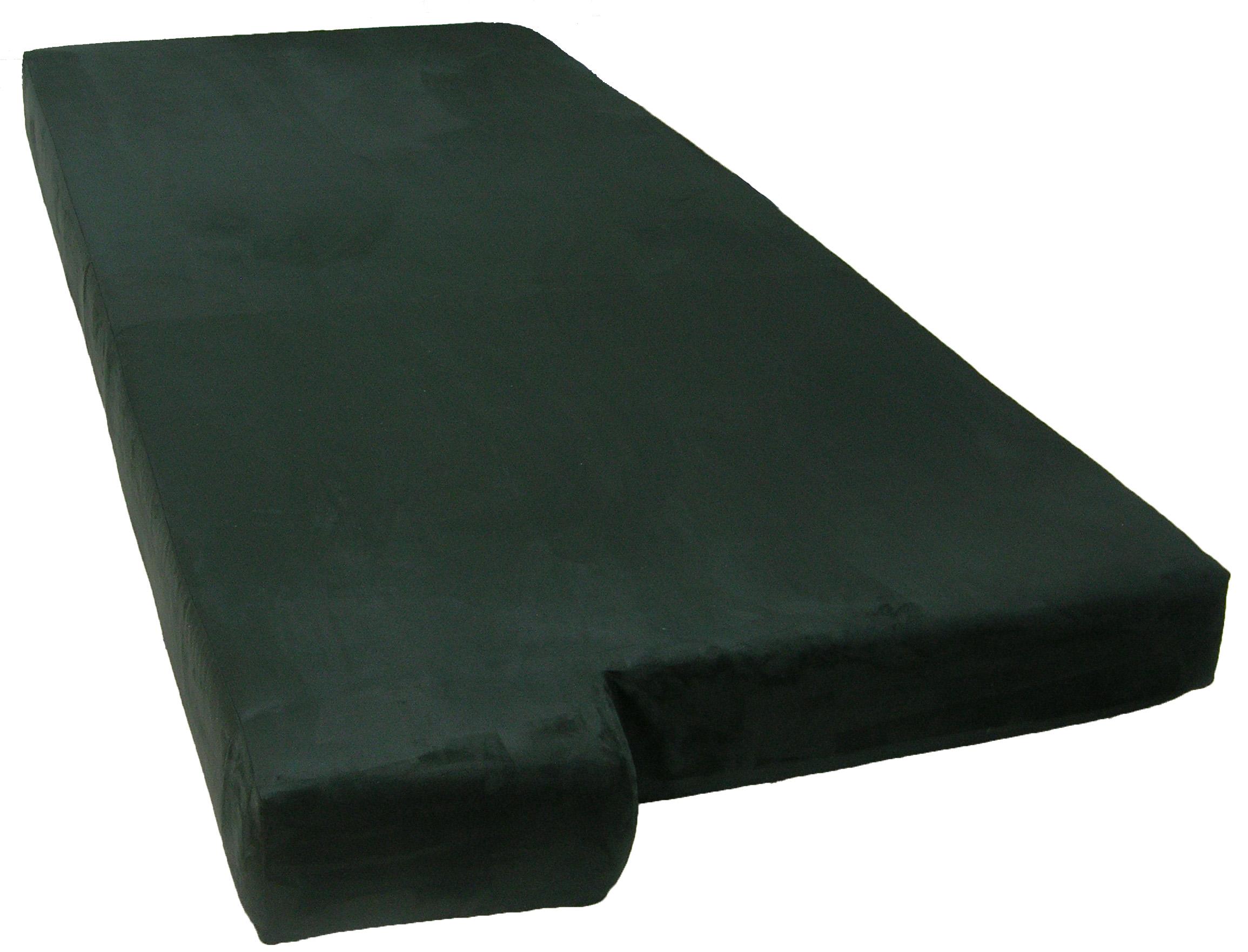 Custom Tempur-Pedic mattress for a custom home bay window
