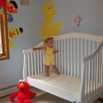 JJ & her custom crib mattress