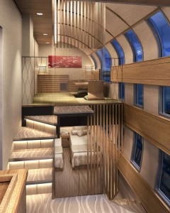 Luxury sleeper train image via theVergedotcom