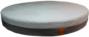 Large round Tempur-Pedic Elite model