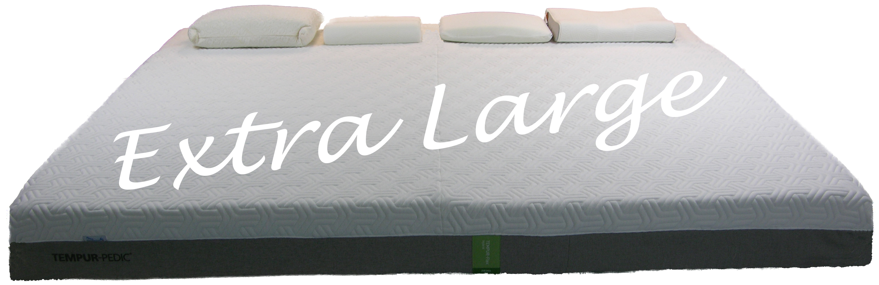 Extra Large Mattress custom made from Tempur-Pedic mattresses