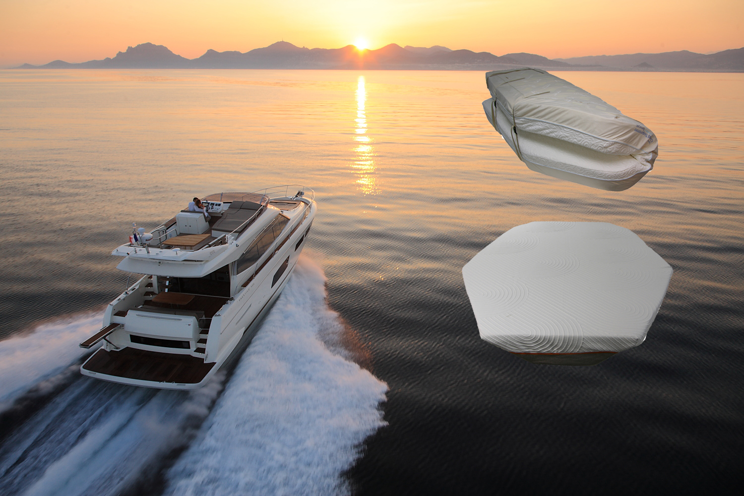 Tempur Pedic Bed for your Power Yacht