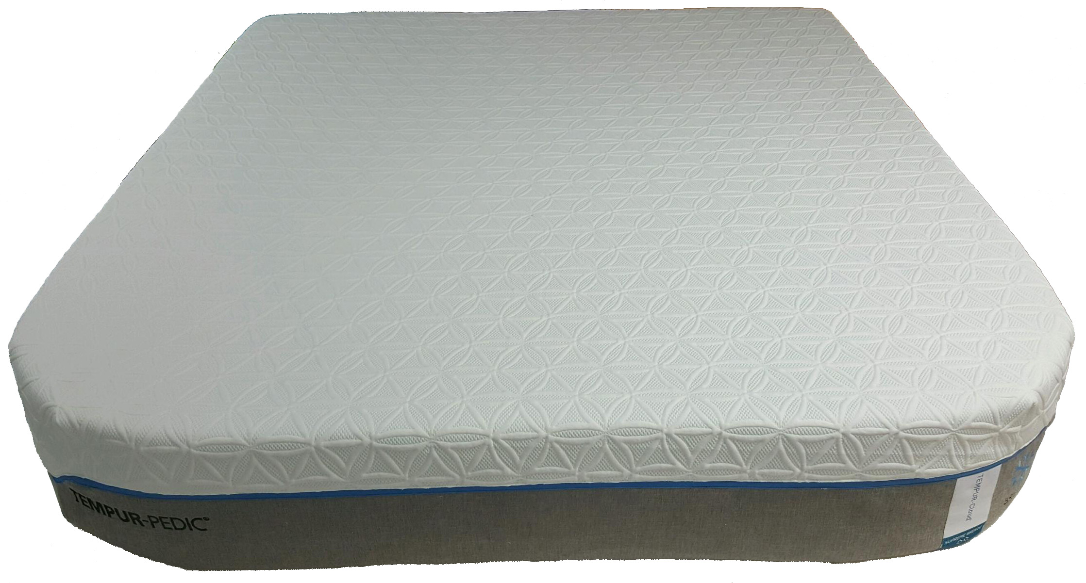 Tempur-Pedic mattress customized with Rounded corners for an RV